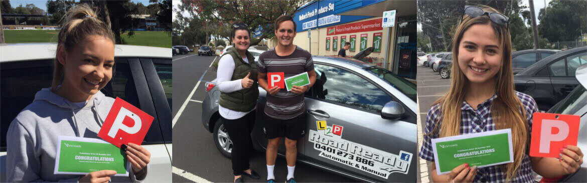 Driving Lessons L2P Road Ready