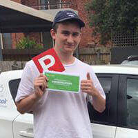 Driving School Altona customer Nicholas