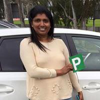 Point Cook Driving School customer Nilanthi